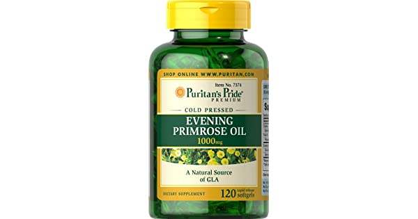 Amazon.com: Puritan s Pride Evening Primrose – 1000 mg de ...