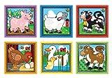 Melissa & Doug Farm Themed Cube Puzzle & 1