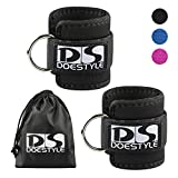 Doestyle-Ankle-Straps-Adjustable-Fit-Ankle-Cuff-Strap-for-GYM-Cable-Machine-Workouts-with-Durable-Cuffs-for-Ab-Leg-Butt-Weight-Exercises-Men-Women-Fitness-Pack-of-2