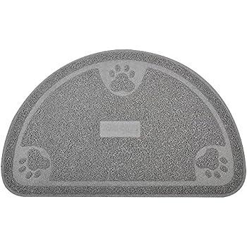 Amazon Com Large Cat Paw Print Litter Box Mat Door Mat