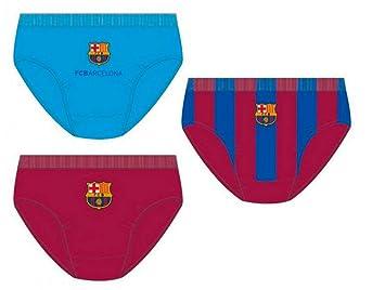 Pack 3 calzoncillos slip en caja regalo de FC Barcelona