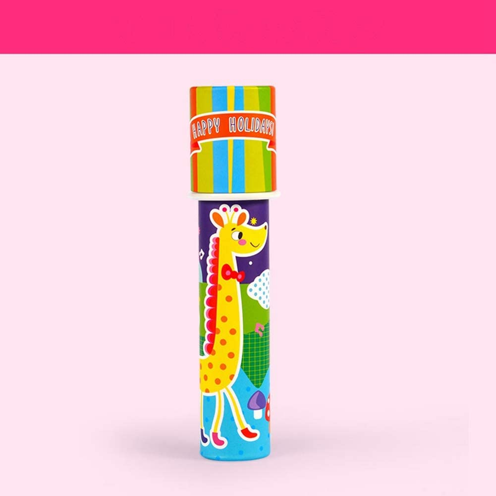1Pc Children DIY Classic Kaleidoscope Educational Optical Toy Toddler Kids Gift Burr-Free// Odorless Lions Kaleidoscope Toy Suitable for 3 Years Old Children Above