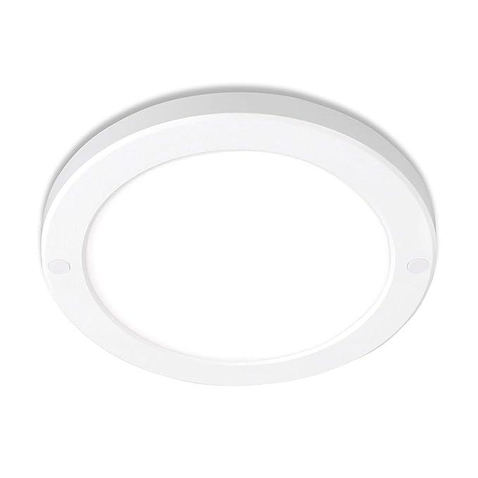10x LED Deckenlampen rund Aufputz 18W neutralweiß Deckenleuchte flickerfrei