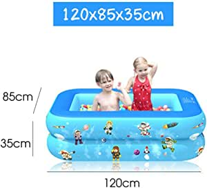 MDHANBK Piscina niños/bebés Jugando en el Agua con Fondo ...