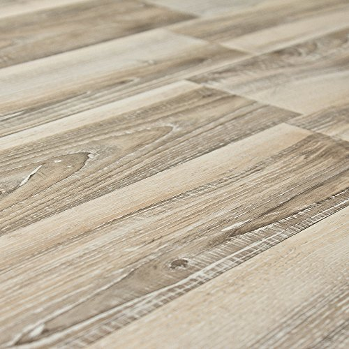 Ash Laminate Flooring (Kronoswiss Noblesse Nordic Ash 8mm Laminate Flooring D8007WG SAMPLE)