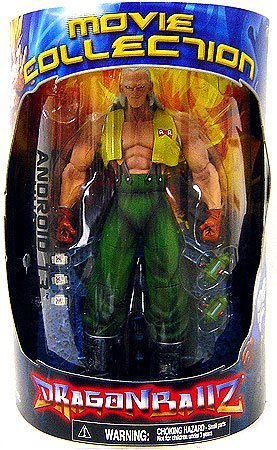 Dragonball Z Series 4 Movie Collection 9 Inch Deluxe Action Figure Android 13 Human