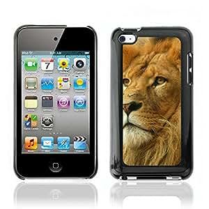 Carcasa Funda Case// Lion V0000008 //Apple IPOD TOUCH 4 4TH