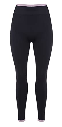 4500d3a02a M Life Women's Seamless Leggings - Rock/Rose, X-Small/Small
