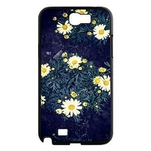 Daisy Design Cheap Custom Hard For Case Samsung Galaxy Note 2 N7100 Cover , Daisy For Case Samsung Galaxy Note 2 N7100 Cover