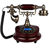 FADACAI Antique Phone European-Style Retro Living Room Bedroom Home Seat Machine Old Piano Phone