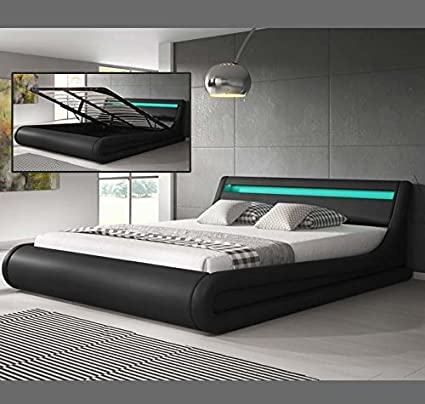 Muebles Bonitos - Cama Canape de matrimonio Parisina (150x190cm ...