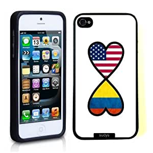 SudysAccessories American Colombian Forever Colombia Flag Infinity Forever Thinshell Case Protective iPhone 5 Case iPhone 5c CaseKimberly Kurzendoerfer