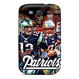 Awesome Cases Covers/For Htc M7 Cover Defender Cases Covers(new England Patriots)