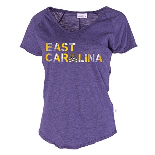 Official NCAA East Carolina Pirates ECU Diamond Bucs Victory Tommy V-Neck Tee