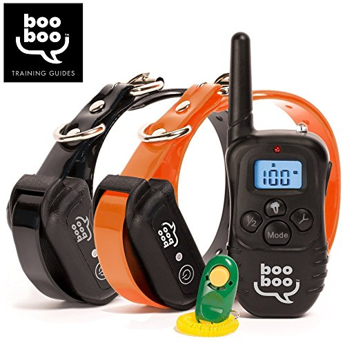 Remote-Dog-Training-Collar-for-All-Dog-Sizes-Expertly-Control-Pet-Behavior-with-BONUS-training-eBOOK-Rechargeable-Waterproof-990-Feet-Range-by-Sit-Boo-Boo