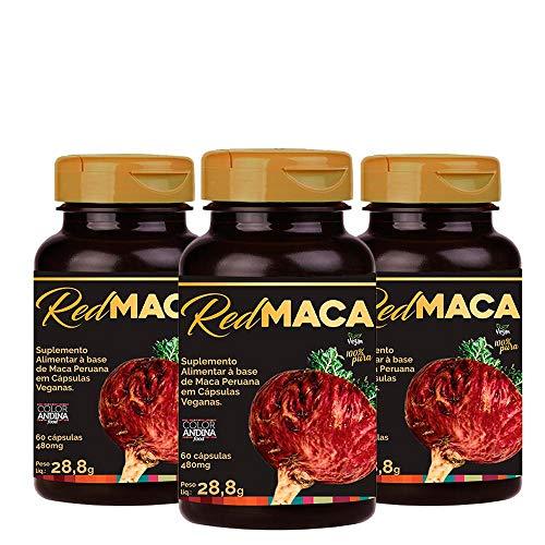 Maca Peruana Red (vermelha), Color Andina Food, Veg,180 caps