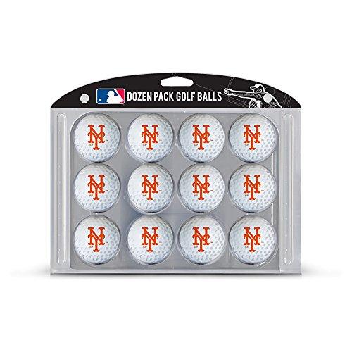 Team Golf MLB Dozen Regulation Size Golf Balls, 12 Pack, Full Color Durable Team Imprint