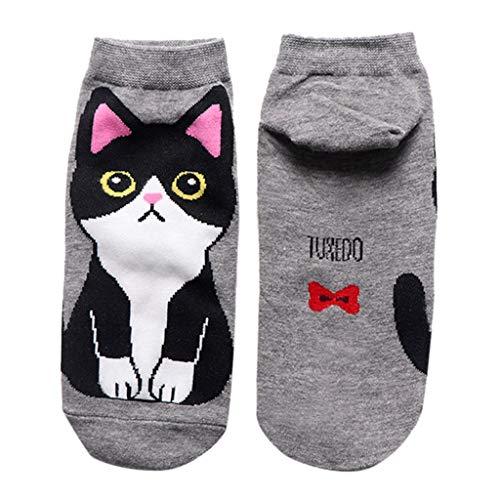 Tronet Casual Socks/Women Casual Man Cotton Socks Animal Art Animation Character Sock