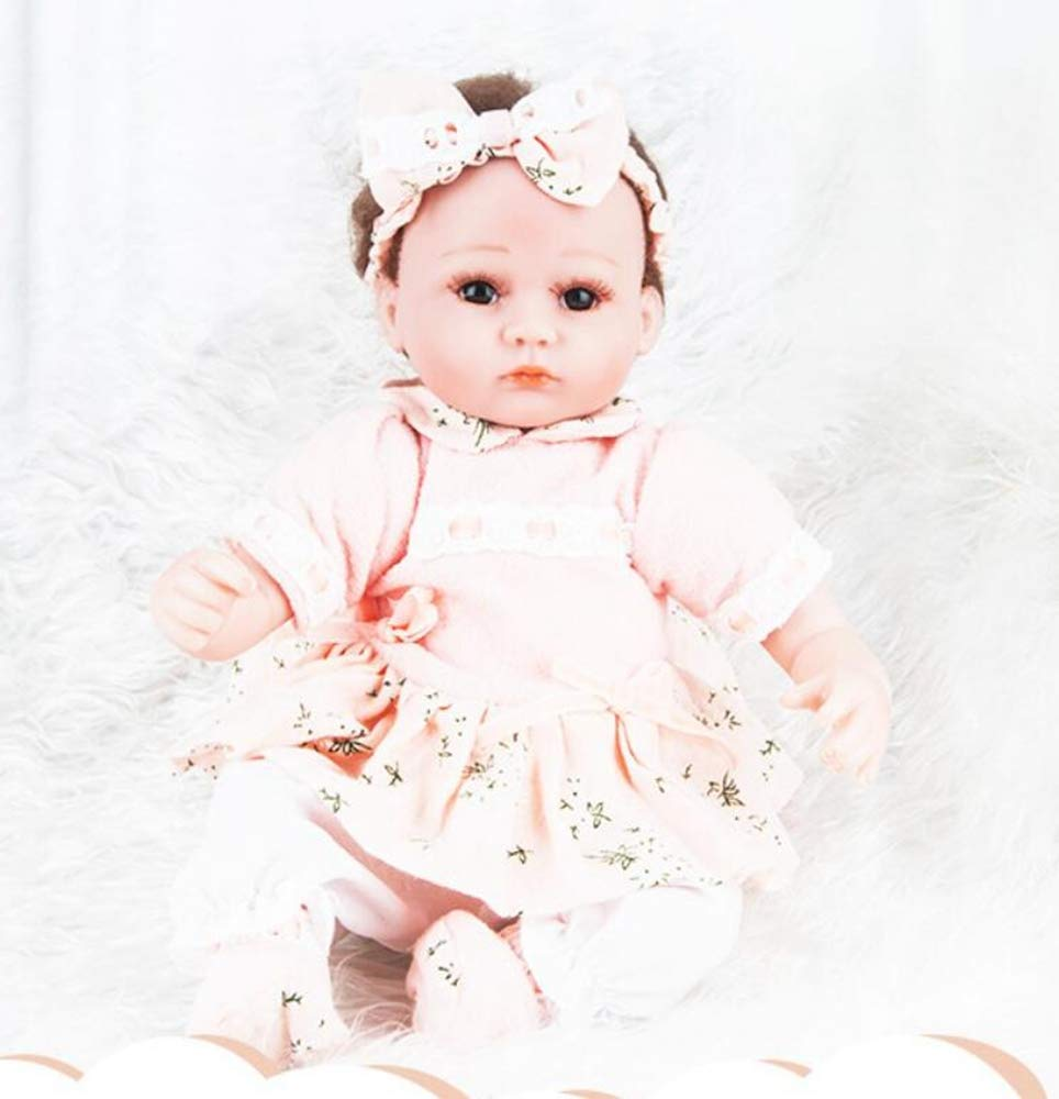 Hongge Reborn Bambola,Simulazione bambola di rinascita bambino Giocattolo giocattolo bambola rinato naturale 45cm