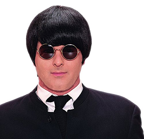 Adult 60s Mod Black Wig -