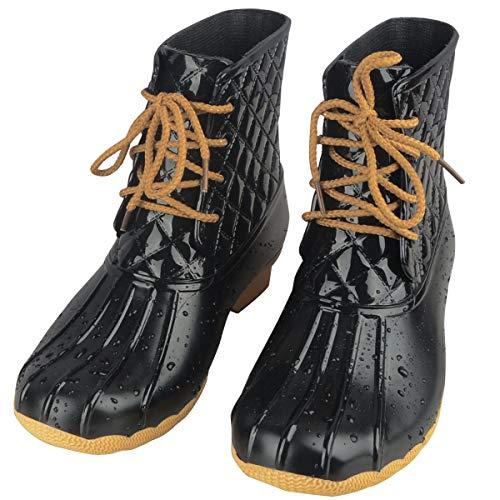lace design rain boots - 7