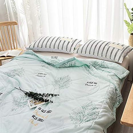 Light Blue Full Zhiyuan Lightweight Comforter Summer Blanket Duvet