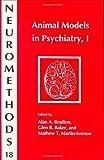 Animal Models in Psychiatry I, , 0896031985