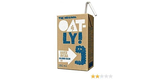 Oatly, Leche (Avena calcio) - 9 de 250 ml. (Total 2250 ml.): Amazon.es: Alimentación y bebidas