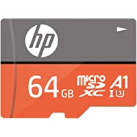 HP MicroSD Card U3, A1 64 GB High Speed (Records 4K UHD and Fill HD Video)