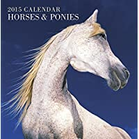 2015 Calendar: Horses & Ponies: 12-Month Calendar Featuring Wonderful Photography And Space In Write In Key Events
