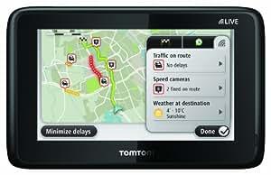 "TomTom GO LIVE 1005 HDT&M Europe Portátil/Fijo 5"" LCD Pantalla táctil 266g Negro navegador - Navegador GPS (Interno, Toda Europa, 12,7 cm (5""), 480 x 272 Pixeles, LCD, 16:9)"