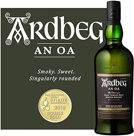 Ardbeg - AN OA Islay Single Malt - 1 x 0.7 l