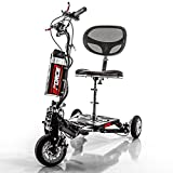 EFORCE1 Recreational Li-Ion Electric Mobility Scooter - Speed 12 mph