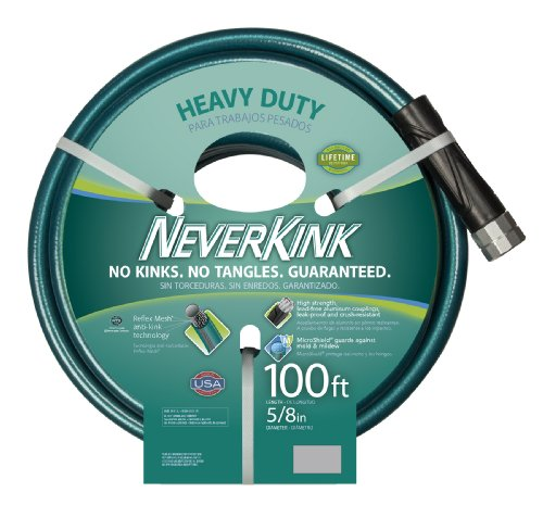 NeverKink Series 8615-100 Series 2000 Ultra Flexible Garden Hose