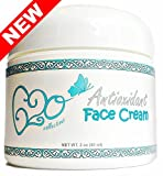 Antioxidant Face Cream (2 Ounce) 100% Natural, 72% Organic Unscented Anti Aging Skin Care Moisturizer for All Skin Types (Sensitive, Acne, Dry, Oily, Combination), Vegan, Cruelty Free Ingredients For Sale