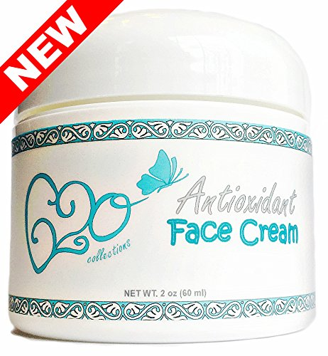 Collection Antioxidant - Antioxidant Face Cream (2 Ounce) 100% Natural, 72% Organic Unscented Anti Aging Skin Care Moisturizer for All Skin Types (Sensitive, Acne, Dry, Oily, Combination), Vegan, Cruelty Free Ingredients