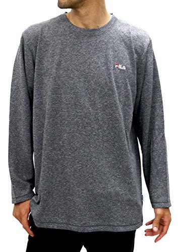 声を出して許可解説[フィラ] 大きいサイズ メンズ Tシャツ 長袖 ワッフル