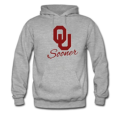 Men's Oklahoma Sooners Classic Primary Slim Hoodie - Oklahoma Sooners Norman Apparel
