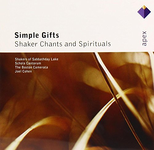 Cover of Simple Gifts: Shaker Chants & Spirituals