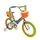 Titan 083-8416 Girl's Flower Power Princess BMX Bike, Multi Color, 16-Inch