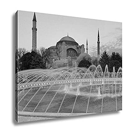 turkey home office. Ashley Canvas Hagia Sophia View At Sunset Istanbul Turkey, Home Office,  Ready To Hang Turkey Home Office