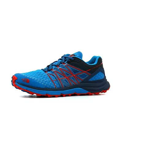 The North Face - Ultra Vertical - Zapatillas Trail - Shady Blue/Hyper Blue