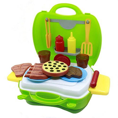 Barbeque Pretend Playset for Children - 4