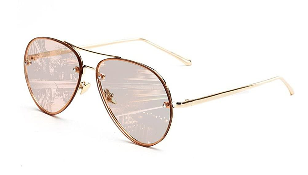 2202af3bddbf Online Cheap wholesale GAMT Vintage Rimless Aviator Sunglasses Mirrored  Clear Lens Designer for Women Sunglasses Suppliers