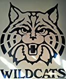 Arizona Wildcats Cornhole Decals - 2 Cornhole Decals Vinyl Decals 2 Free Circles