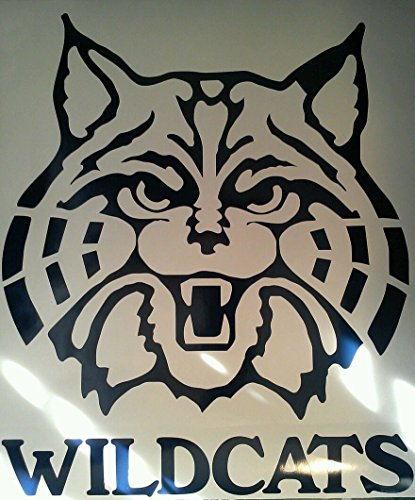 Arizona Wildcats Cornhole Decals - 2 Cornhole Decals Vinyl Decals 2 Free Circles by The Cornhole King
