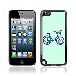 Carcasa Funda Case // V0000689 Retro Bicycle Graphics // Apple Ipod Touch 5 5G 5th