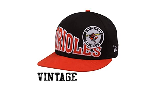 big sale e19da a46b9 Amazon.com   MLB New Era Baltimore Orioles Black-Orange Cooperstown Stoked  Snapback Hat   Sports Fan Baseball Caps   Sports   Outdoors
