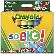 Crayola 18 Crayones Extra Jumbo