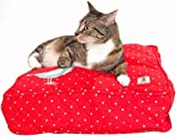 molly meow bird on a wire cat duvet, square, My Pet Supplies